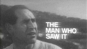 Forgotten Australian TV Plays: <i>The Man Who Saw It</i>