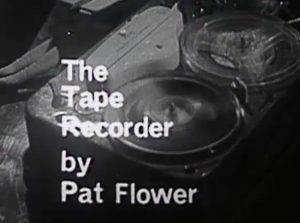 Forgotten Australian TV Plays: The Tape Recorder