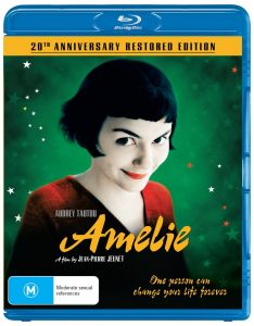 Win AMELIE: 20TH ANNIVERSARY RESTORED EDITION on Blu-ray