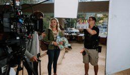 Peyton List shoots family film in Australia